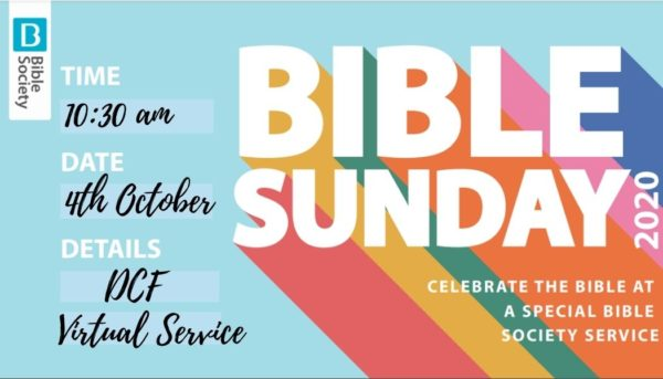 Bible Sunday 2020 a Virtual Service