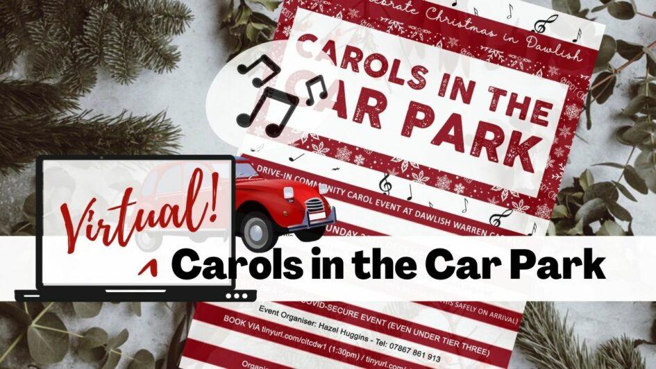 Virtual carols in the car park