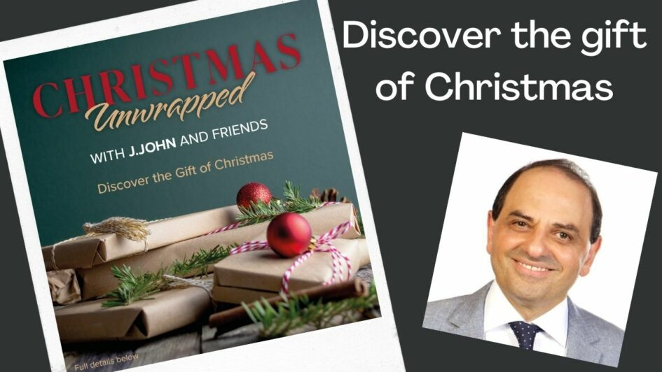 Unwrap the meaning of Christmas with J. John and friends