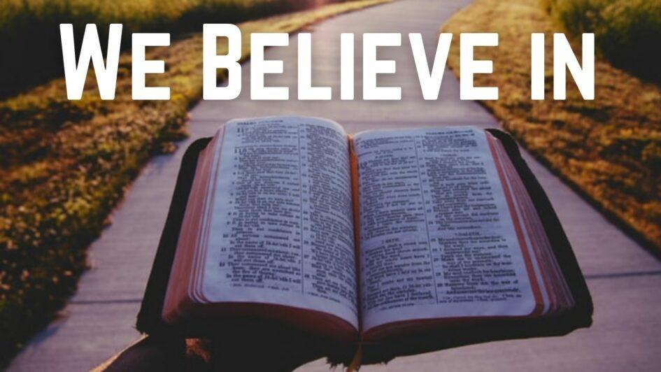 Read Dawlish Christian Fellowship's Statement of Faith
