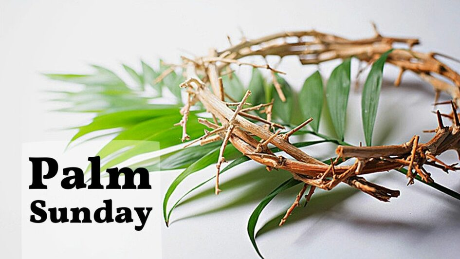 A virtual service to begin Holy Week