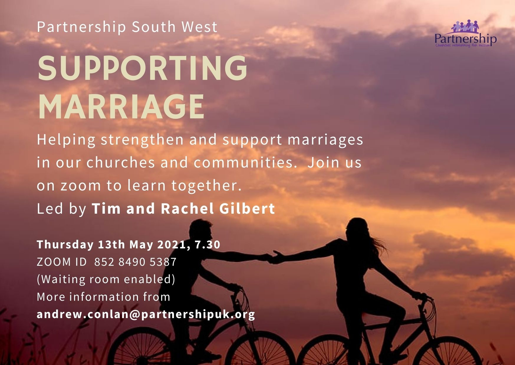 supporting marriage online event