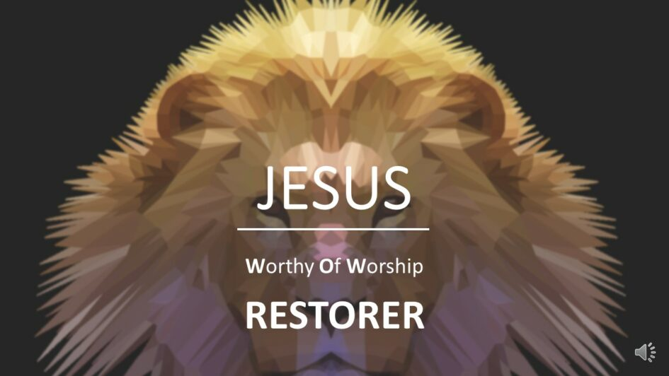 Jesus restorer
